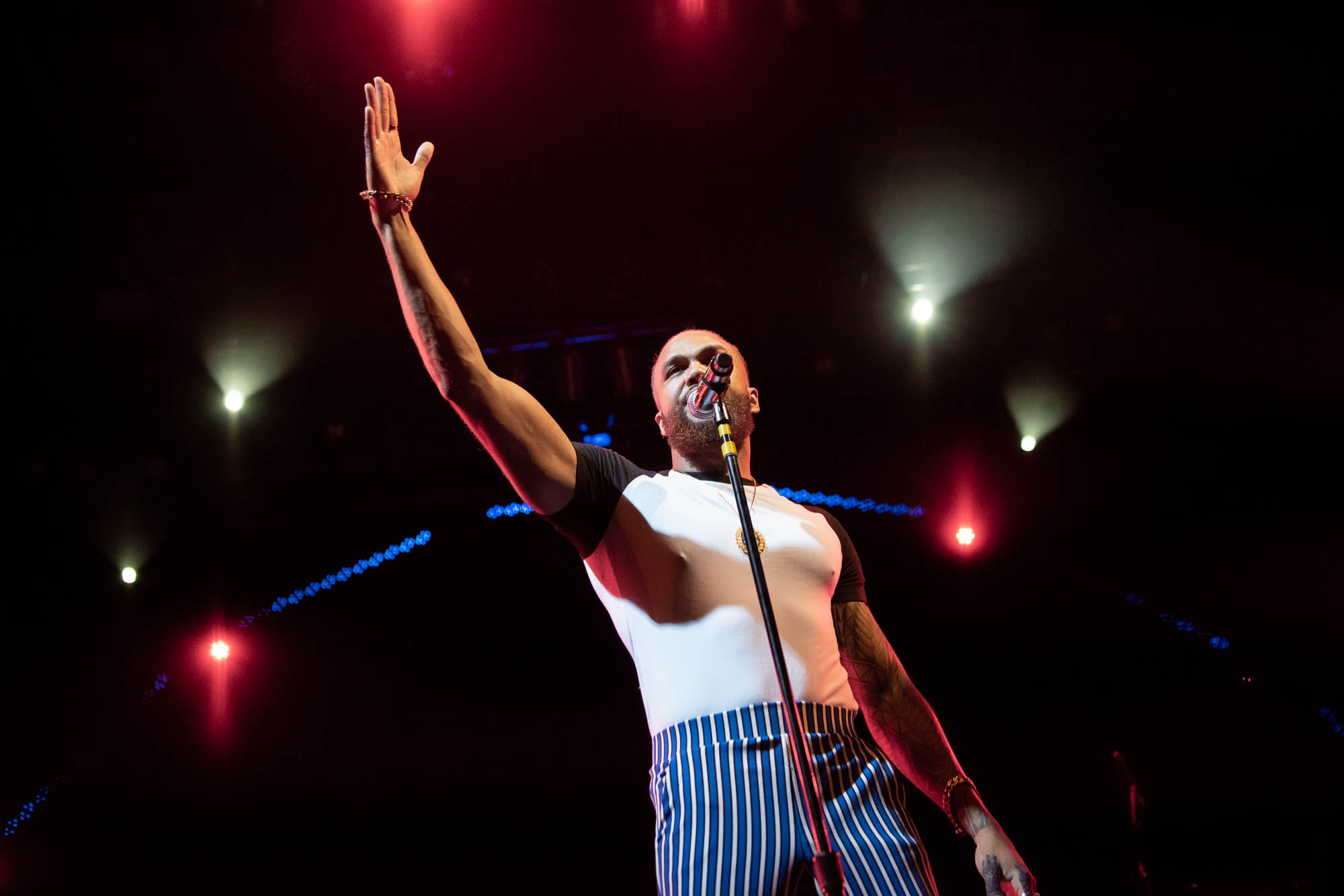 Jidenna performs at BRIC Celebrate Brooklyn! Festival at Prospect Park in Brooklyn, NY on Friday, July 26, 2019.