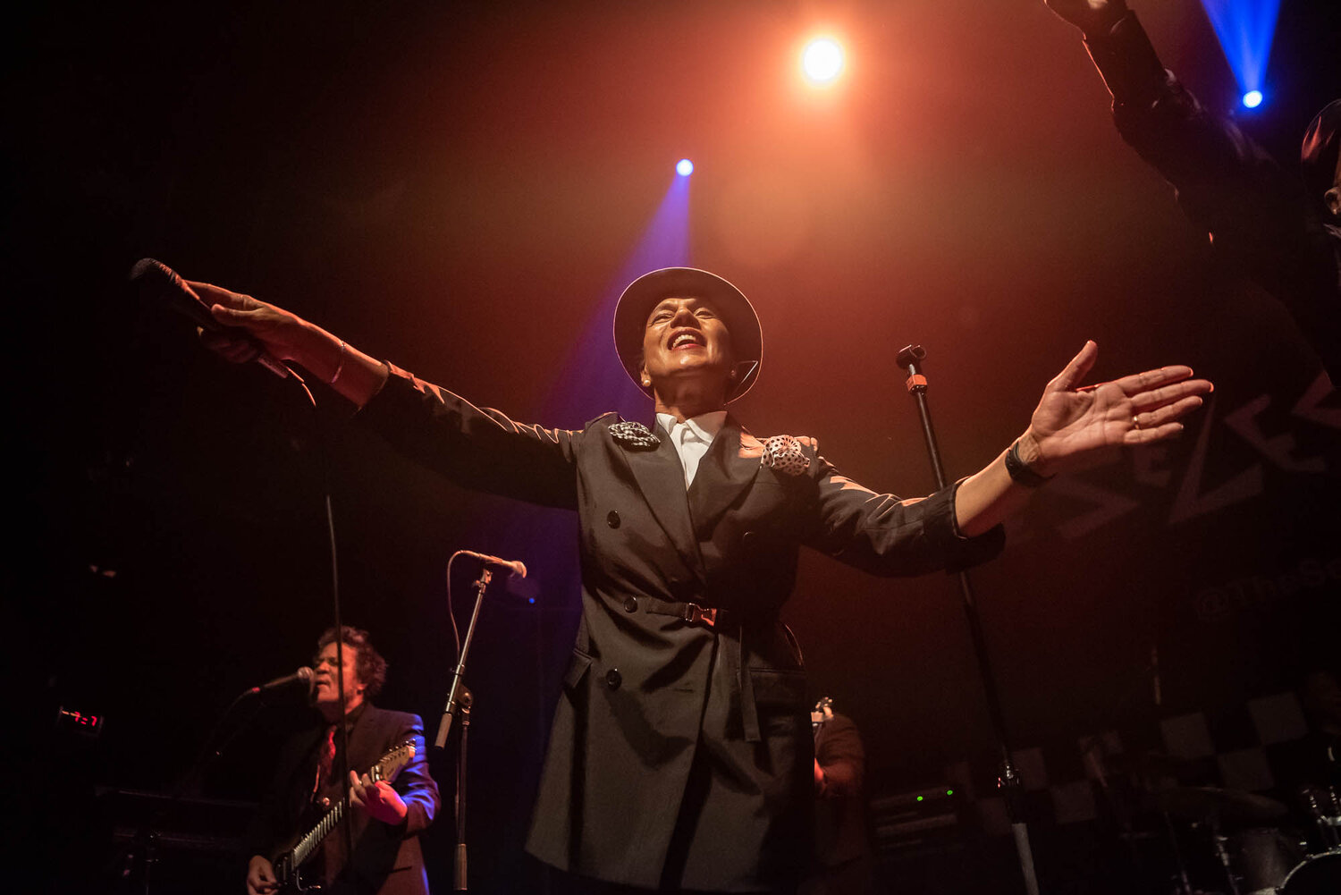 Pauline Black of The Selecter during their performance at Gramercy Theatre on Wednesday, September 11, 2019.
