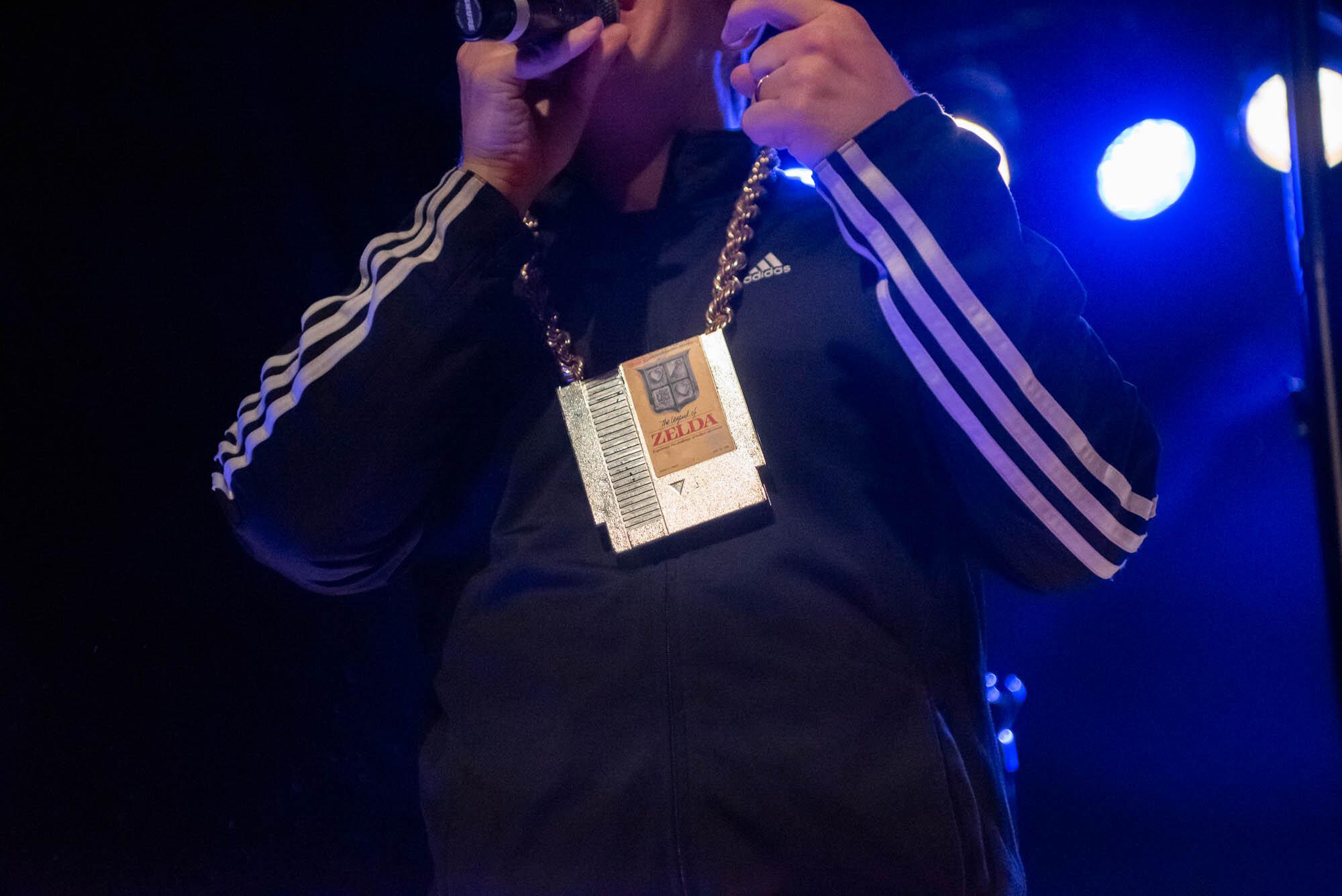 MC Lars performing at Warsaw in Brooklyn, NY on Friday, September 20, 2019.