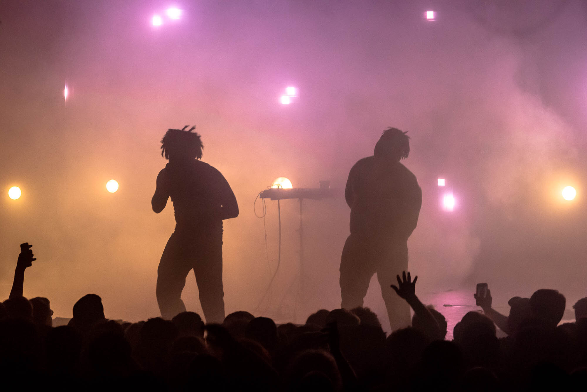 Injury Reserve performing at Gramercy Theatre on Wednesday, September 25, 2019.