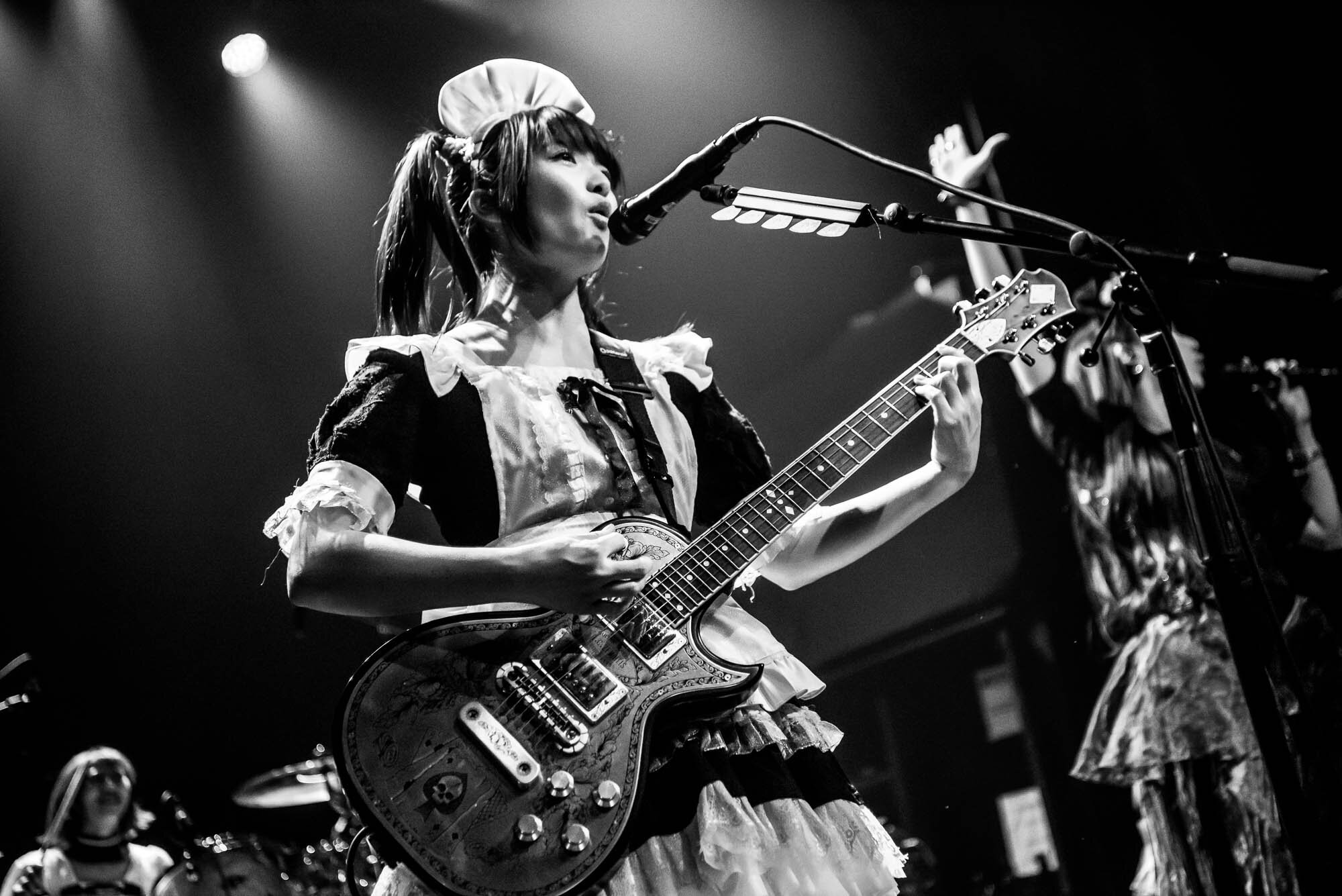 BAND-MAID performing at Gramercy Theatre on Thursday, September 26, 2019.
