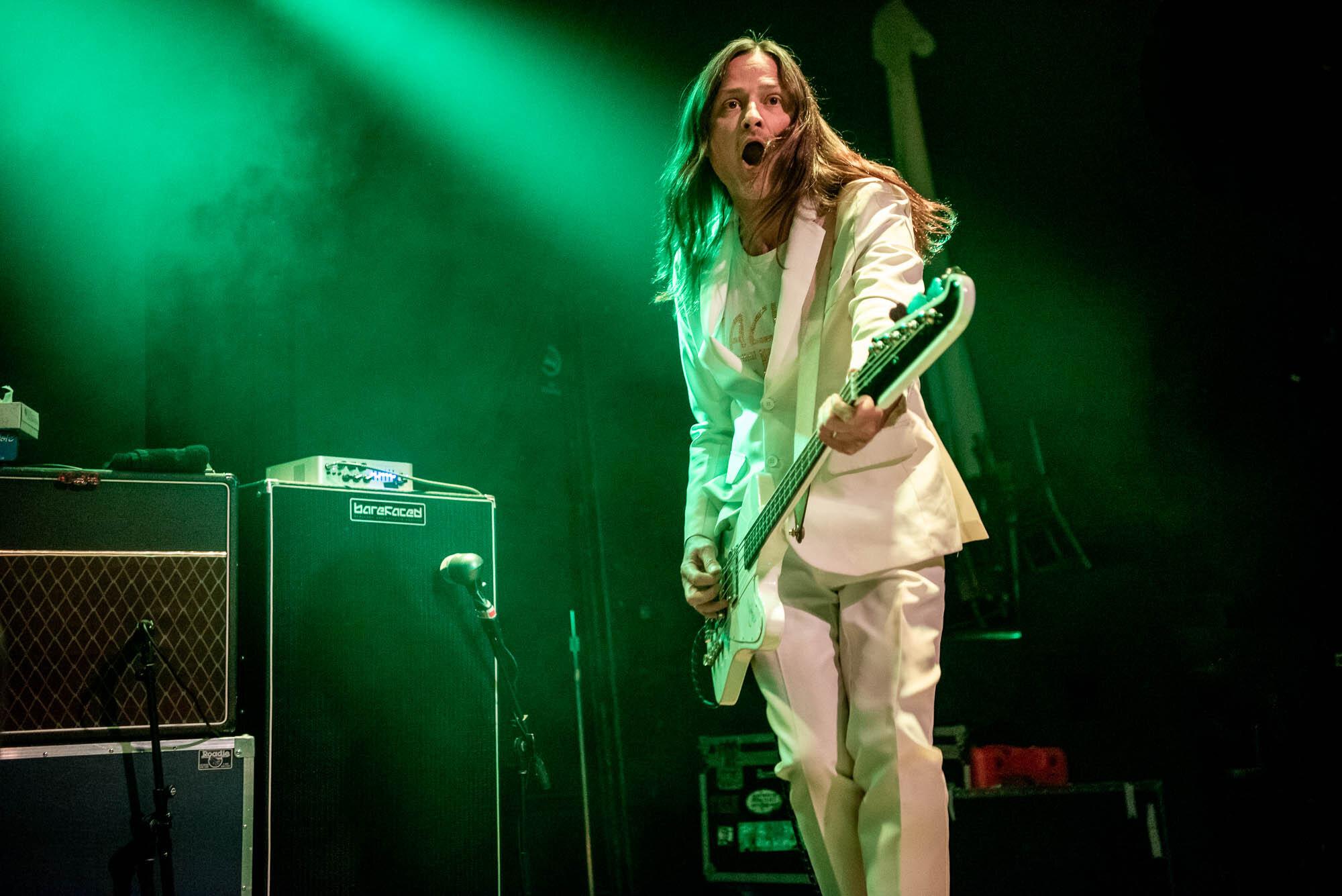 Redd Kross performing at Warsaw on Thursday, October 10, 2019.