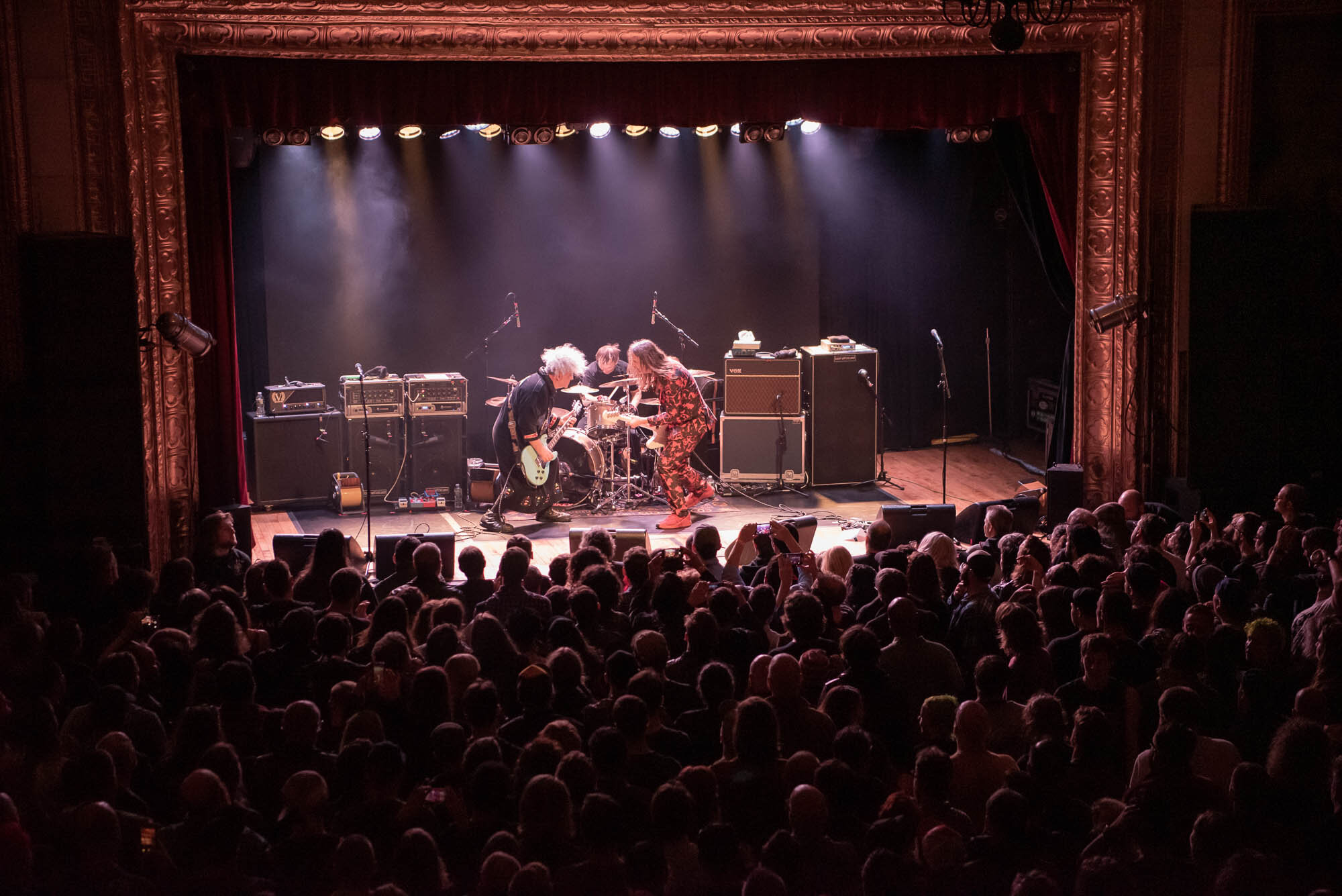 Melvins performing at Warsaw on Thursday, October 10, 2019.