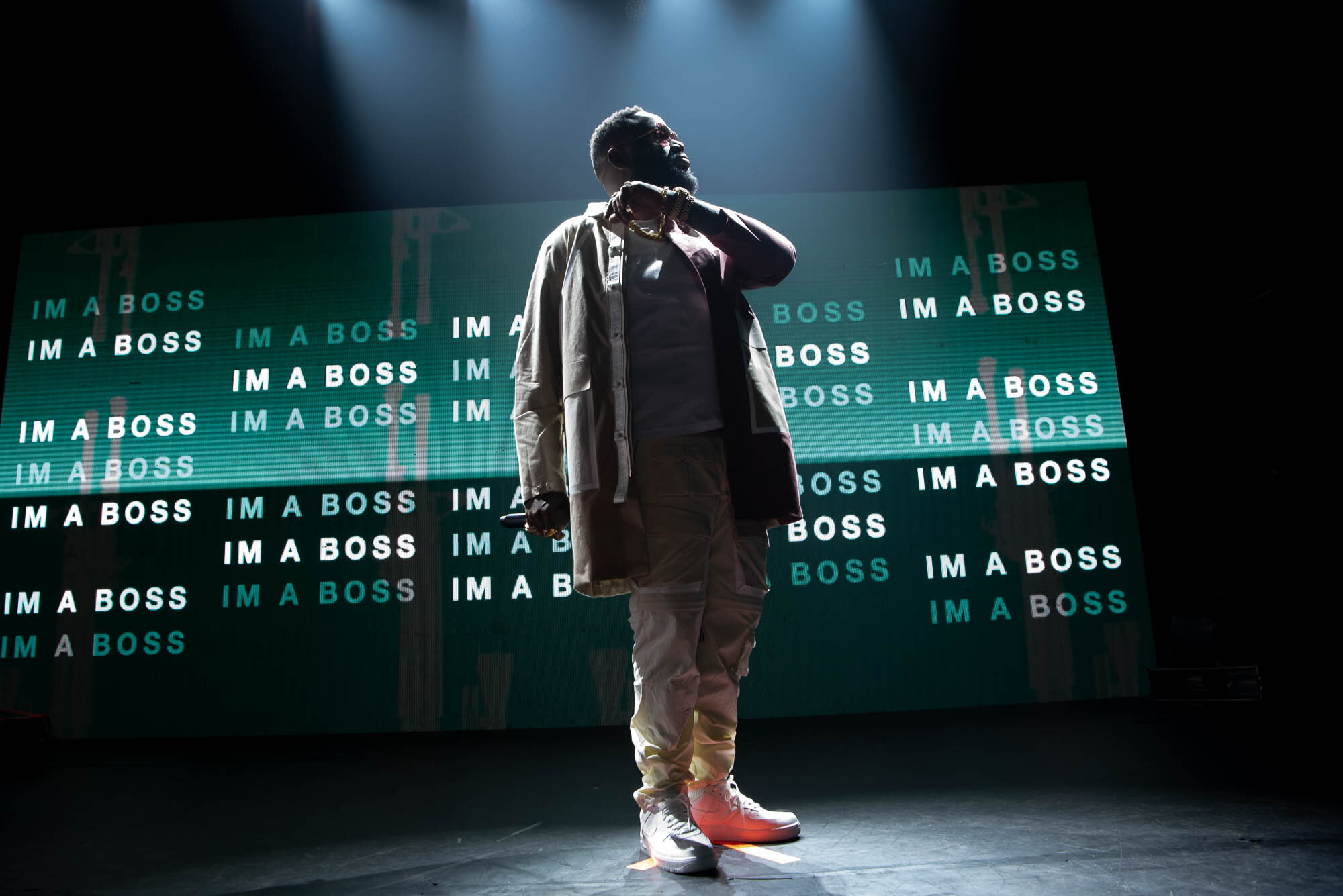 Rick Ross at Gramercy Theatre on Tuesday, October 15, 2019.