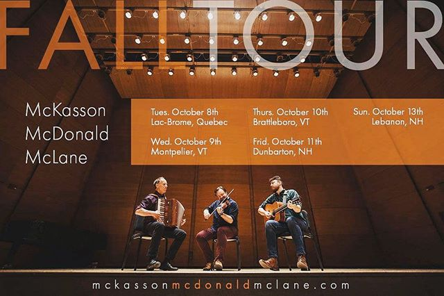 Heading out on tour next week! Check our website or send us a message for show info. Hope to see you!