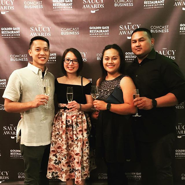 Pinoy Heritage, Nominated as the Best Non-Brick and Mortar in SF, Golden Gate Saucy Awards Night 2018