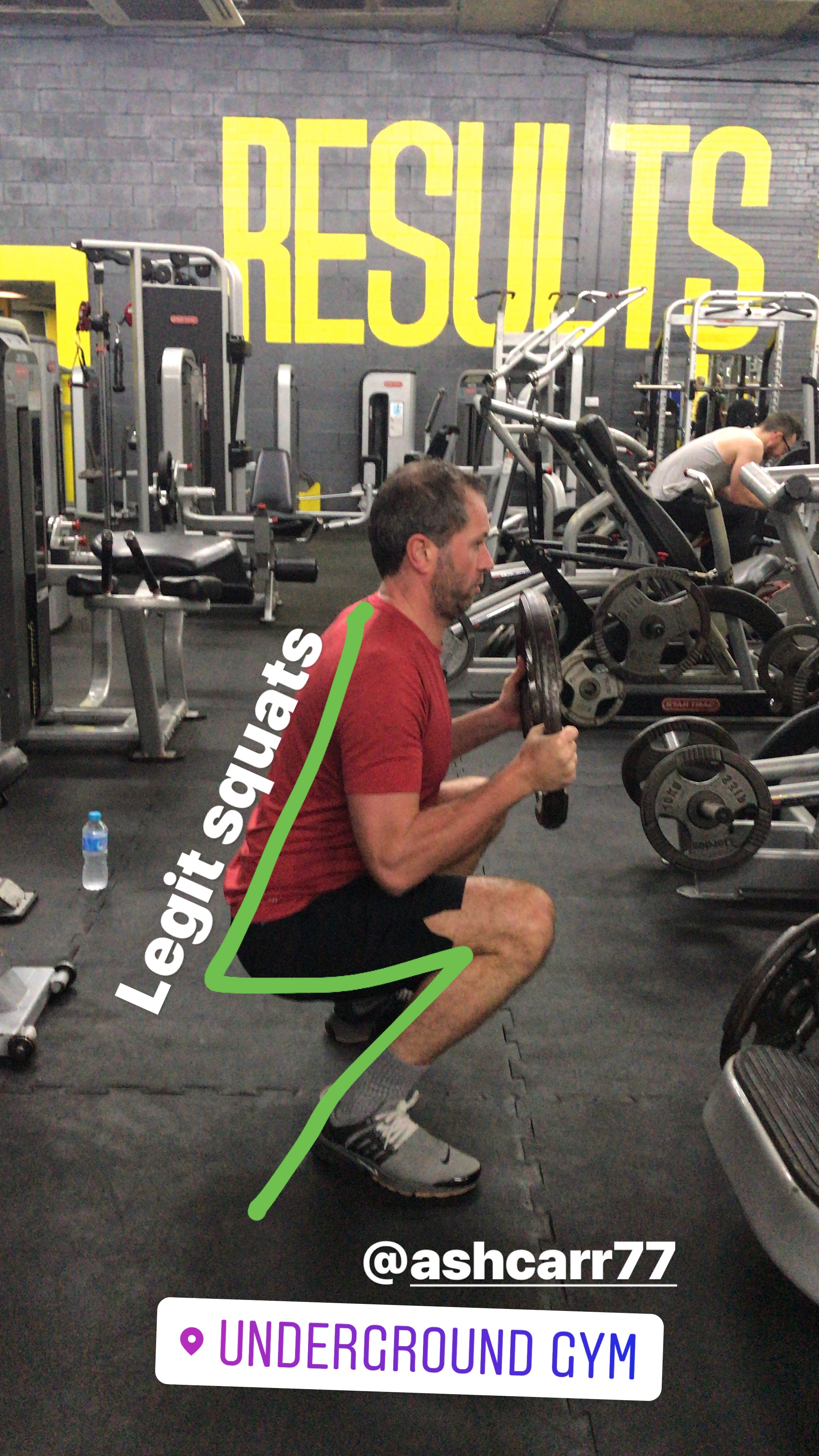 Stretching will enable you to squat lower
