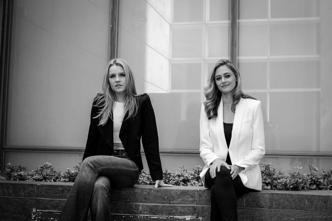 Gia Crovatin and Elizabeth Masucci