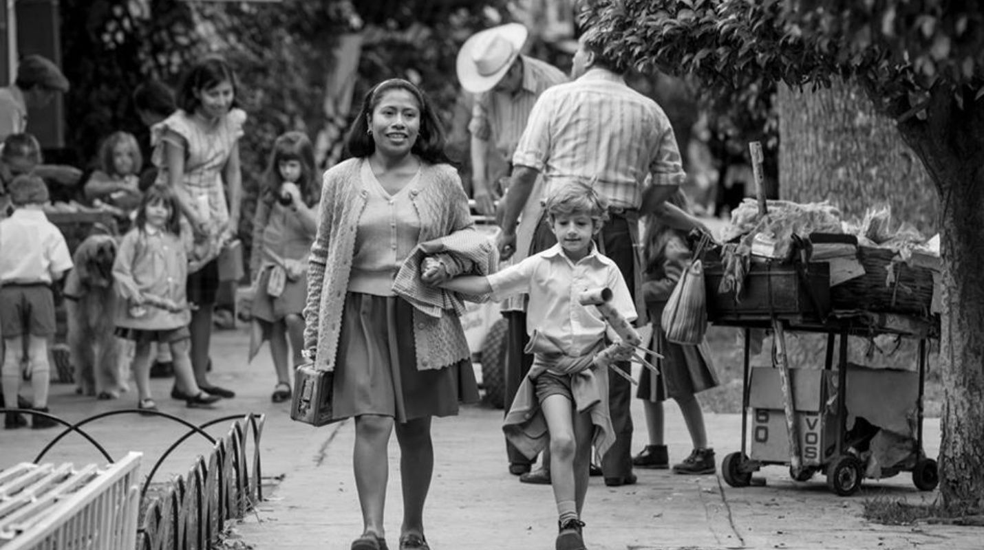 Imagen extraída de la película ROMA. Fotógrafo Galo Olivares