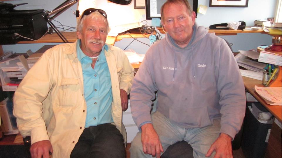 "Joe ""Bones"" Courier (Left), Gordon Peabody Director (Right)"