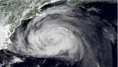 Hurricane Irene, Satellite Image