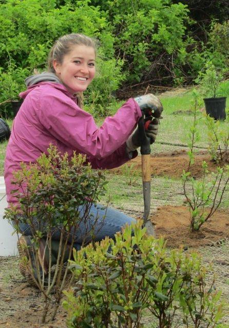 Volunteer Coordinator Kristyna