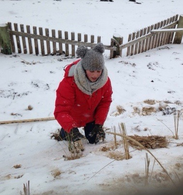 Rosie Lamadrid, Winter Intern