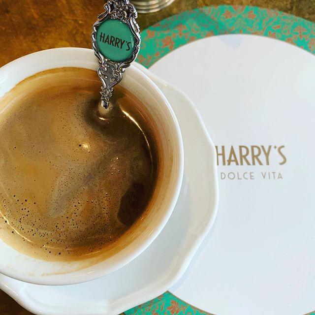 Last Coffee before heading home.  So sad to leave you London. #mme.mink #houseofmink #coffee #Harrysbar
