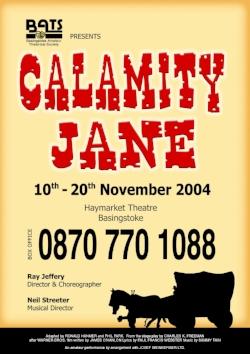Calamity Jane - Nov 2004