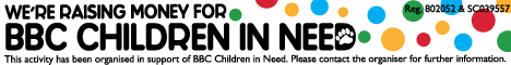 BBC Children in Need - Official fundraiser logo