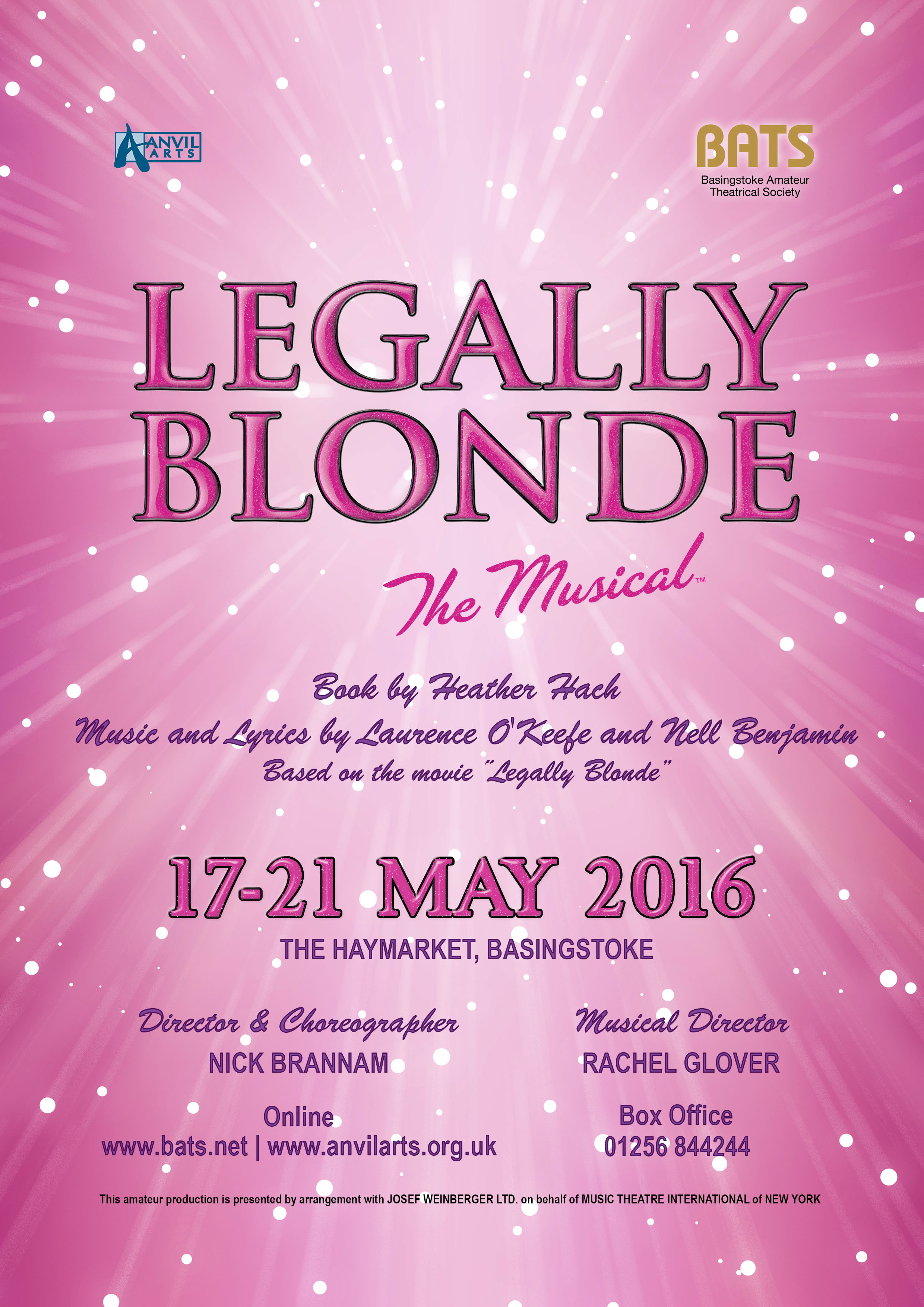 BATS Legally Blonde Poster image