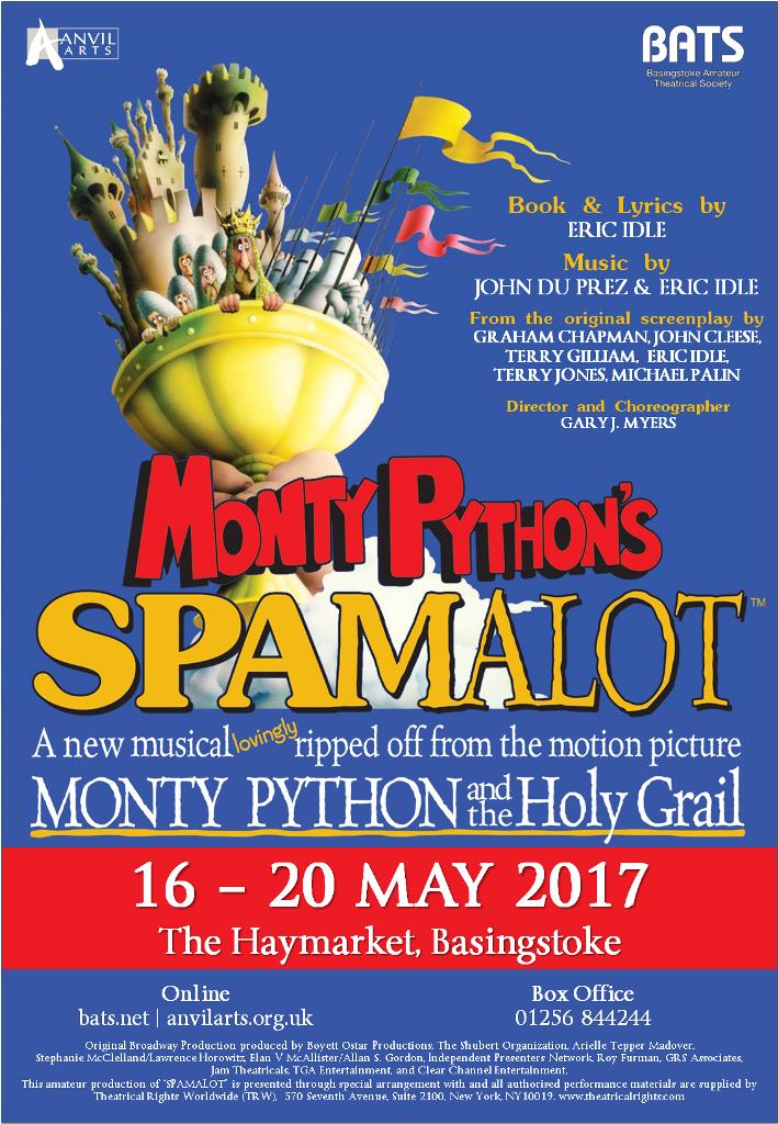 Spamalot - May 2017