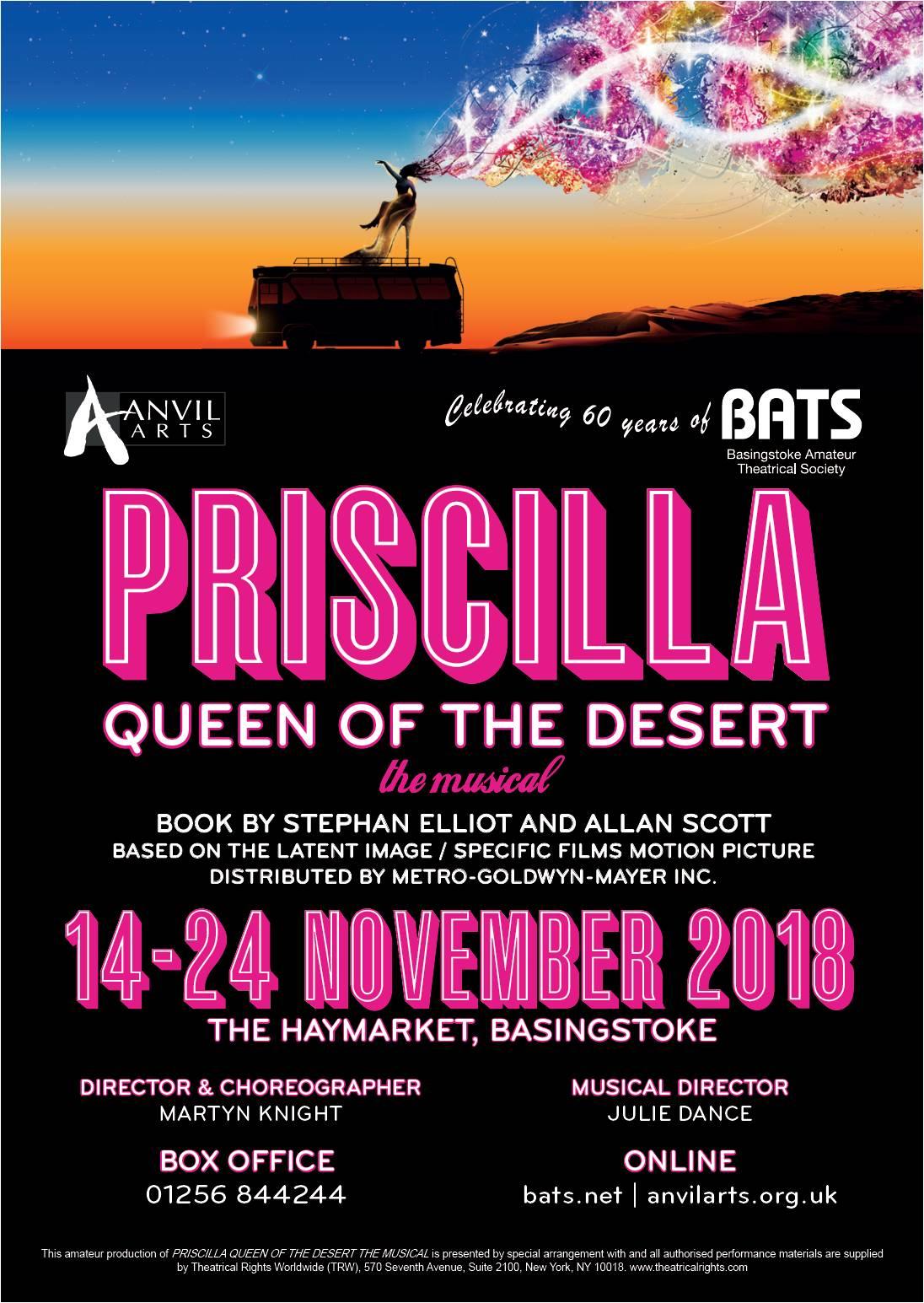 Priscilla Queen of the Desert - Nov 2018