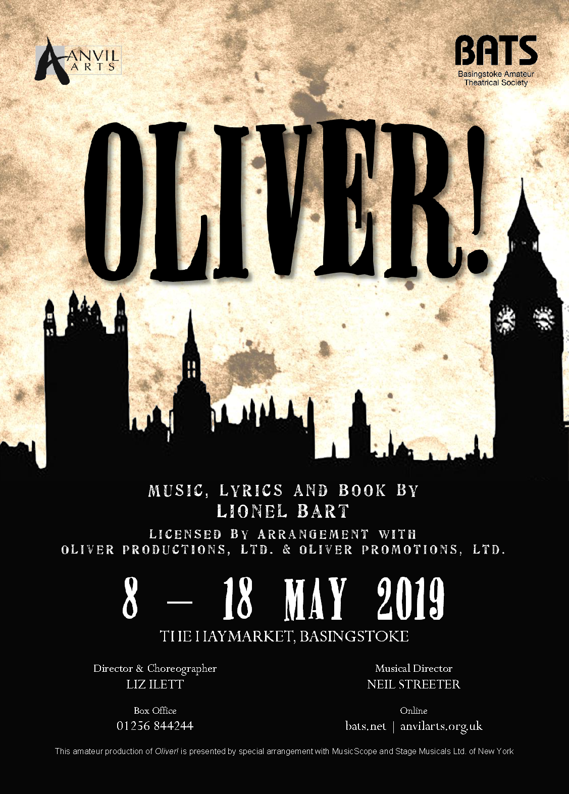 Oliver! - May 2019