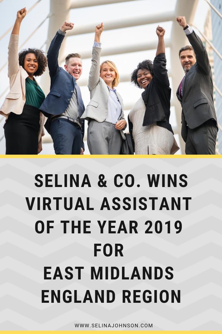 Selina & co. win Virtual Assistant Award UK.png