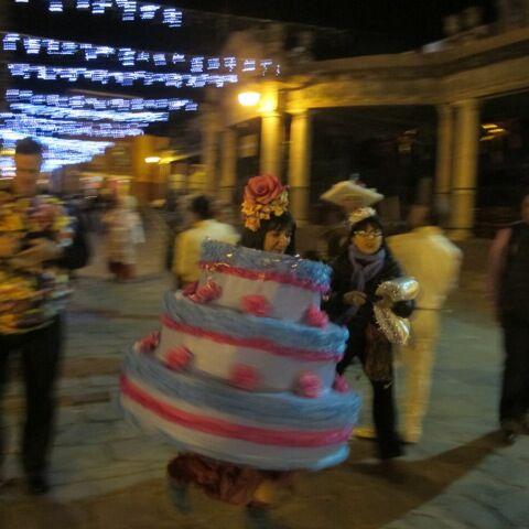Sandra's 60th birthday fiesta. Taking over the town.  Photo ©2014 Macarena Del Rocio Hernandez