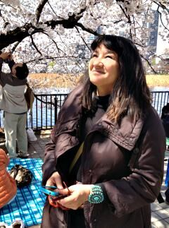 Cherry blossoms in Japan. April 2012. Photo ©2012 Sandra Cisneros