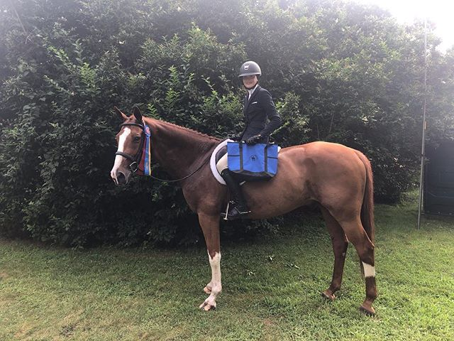 """Congratulations to our fantastic riders and amazing horses on a very successful Sagaponack horse show! Kristen Baran took home champion and reserve on Caramia and Beloved in the adult hunters, Liz Monocha and Red Light took home a blue ribbon in the adults as did Jen Tunney and Lightening! Caroline Cole and Kinsale were champion in the 3'3"""" juniors, Emma and Chinou finished reserve champion in the children's hunters! Leslie Lipton and Drue Halsted both took home red and blue ribbons in the younger adult hunters on Condor and Authentic Image. Natasha Schneur and Naloubet champion in the special hunters, Neva and Arabella Nevab were champion and reserve champion in the pony hunters on their own Tiara and Elegance! Colette Braille won the medal, Sarah Summerville and her new pony won a class in the children's ponies, Lilah took home top ribbons in the short stirrup, Annabel was fifth in her first ever WTC class and Tracy and Popeye got great ribbons in the long stirrup!! Thanks so much to our amazing grooms for making such a big day run so smoothly and of course our unicorn animals!!! @gretchentopping @as7782 @heidiearle"""
