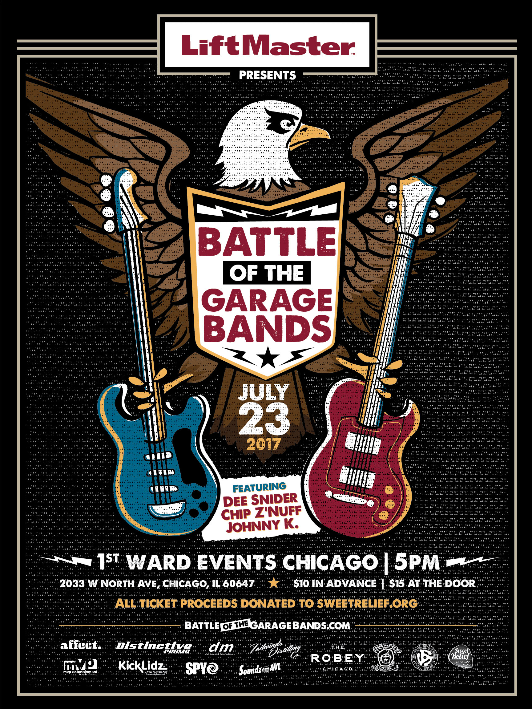 Liftmaster Presents Battle of the Garage Bands