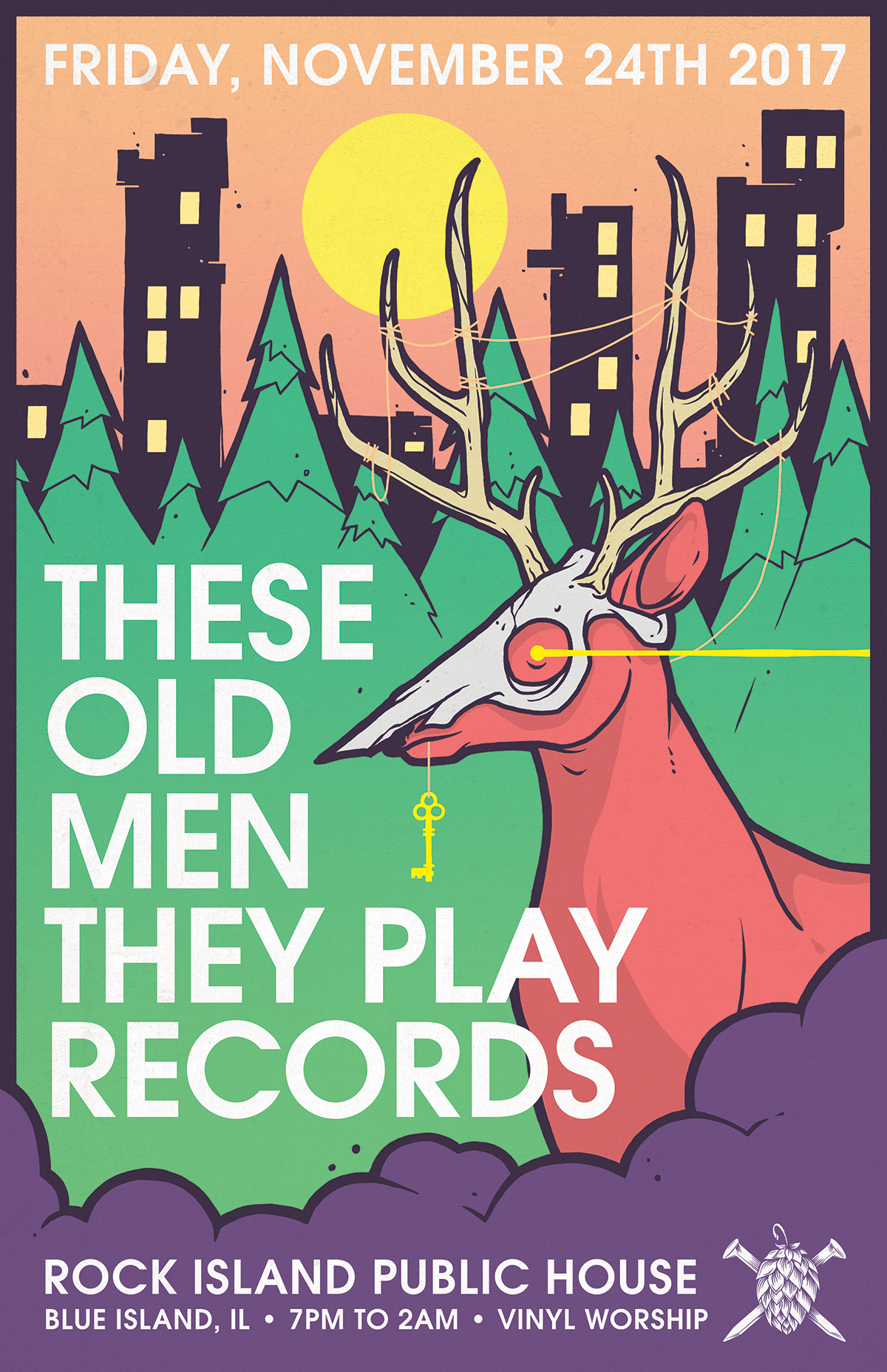 These Old Men They Play Records - the black friday edition