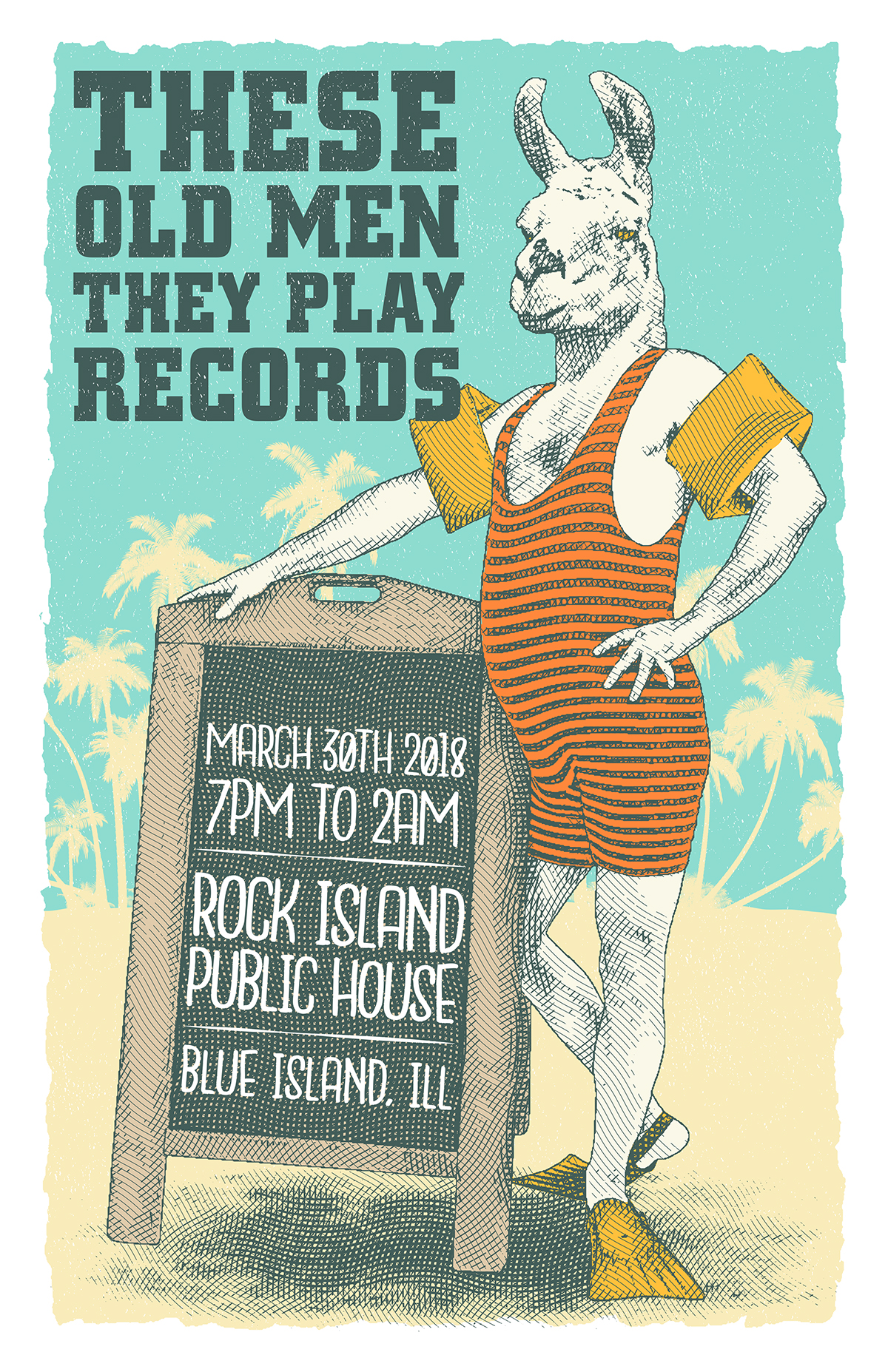 These Old Men They Play Records - The March Edition
