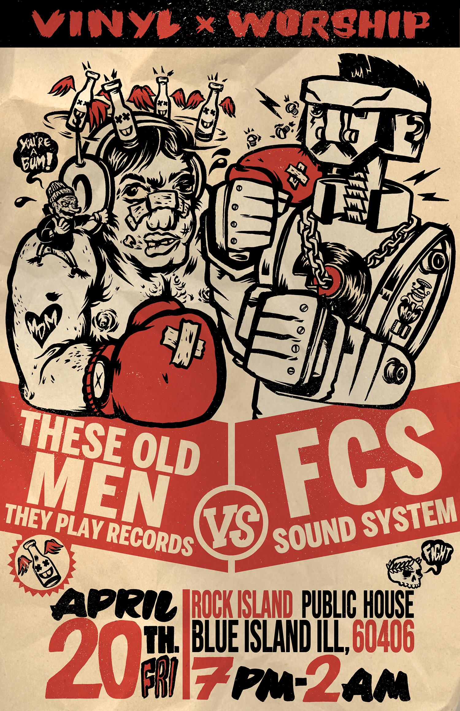 TOMTPR VS FCS SoundSystem