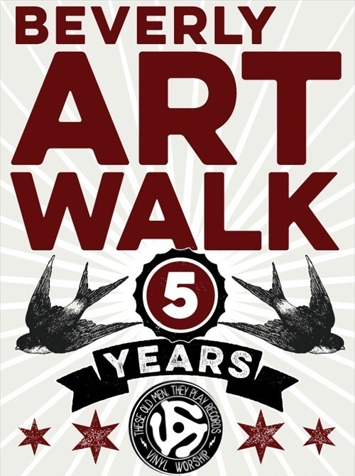 These Old Men they Play Records  return to the  5th annual Beverly Art Walk . We Will be deejay all day at  Horse Thief Hollow  Starting at Noon on Saturday September 29th 2018!  A Great day of Art, Music, Food and Drink!
