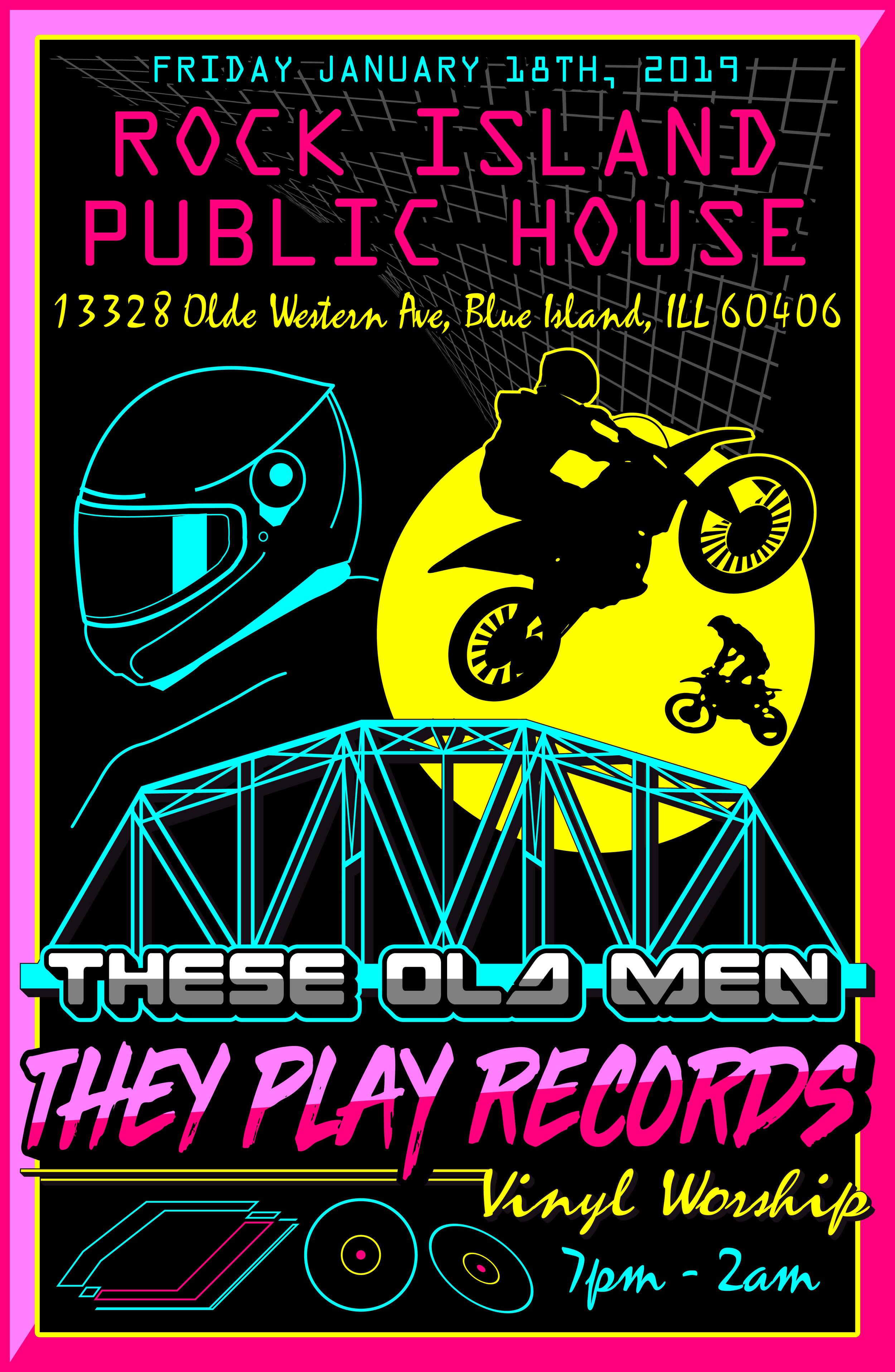 These Old Men They Play Records - The January Edition