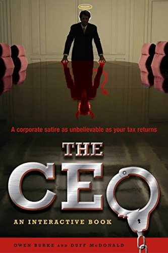 The CEO: An Interactive Book - You're the boss....Now make an executive decision.You are the CEO of Fleece Industries. So far, you've made all the right choices. The result: Your life's work -- building a company from an idea scrawled on a bar napkin into a clothing empire -- has reached a major milestone. Fleece is going to have an initial public offering and become a publicly traded company on the New York Stock Exchange. The instant the opening bell rings, you'll be worth tens, if not hundreds, of millions. It's a dream come true. Unfortunately that's when things get complicated. Now come the really hard choices. What would you do if  You discovered that a rogue employee had been cooking the books? Your mistress threatened to expose your affair to your wife? You found yourself at the center of an insider-trading scandal? Your daughter turned up in a sex tape on the Internet? You found yourself considering the worst choice of all: MURDER? Step up to the plate. What would you do if you were The CEO?