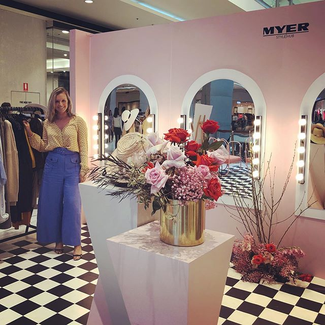 Loved being a part of the Spring Launch for @westfieldchatswood and @myer today 💗 #tasteshopplay #style #fashion #personalstylist #westfieldchatswoodtsp