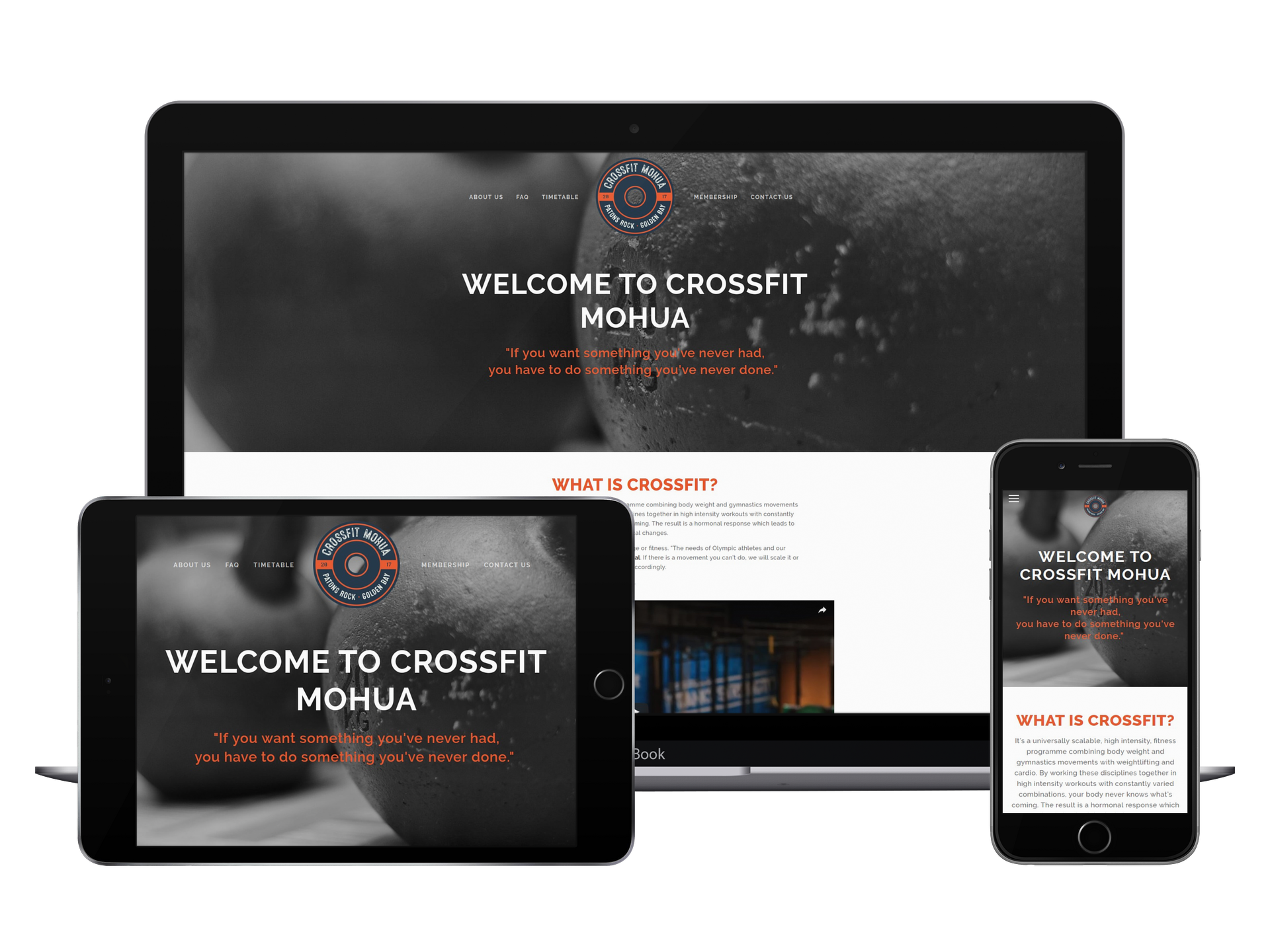 CrossFit Mohua - Fitness