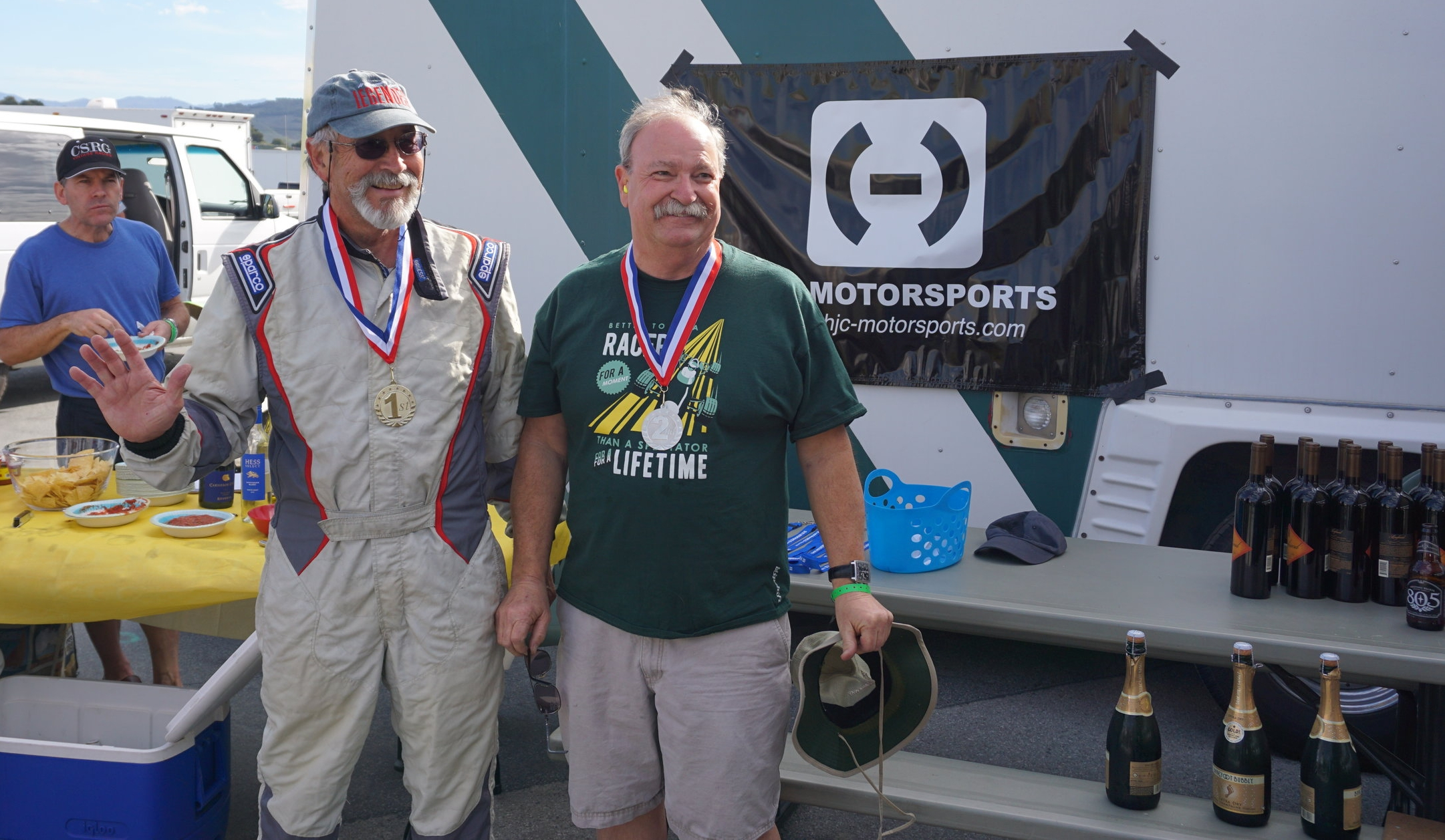 Norm and Dan, the Club Ford Podium!