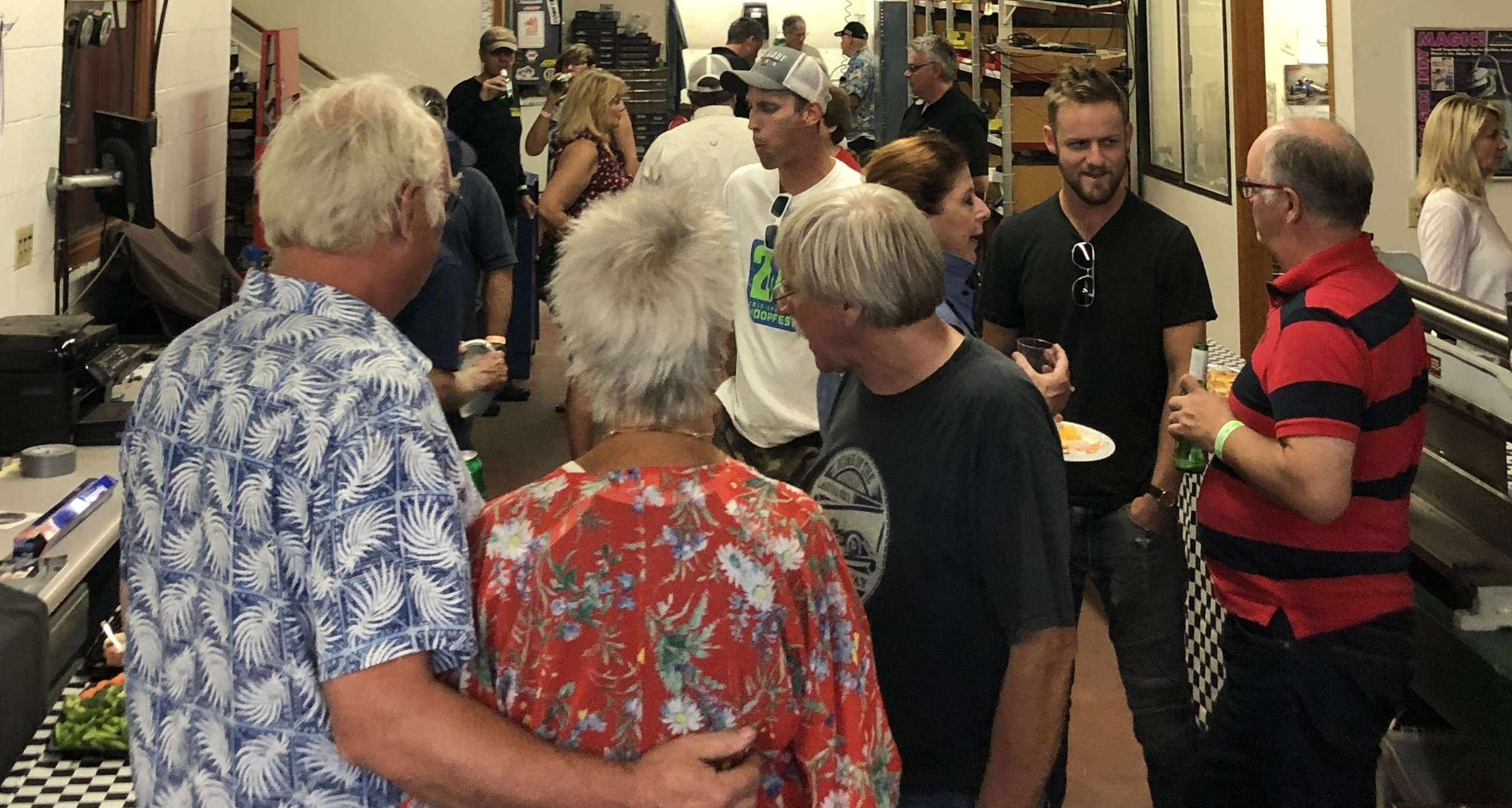 Ivey Engines hosted their Friday Evening reception