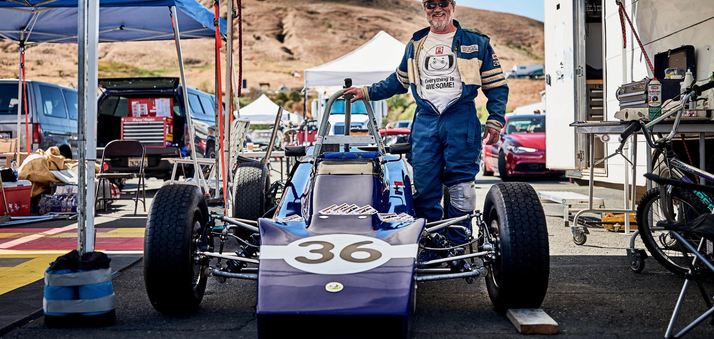 Michael Edick's Lotus 61