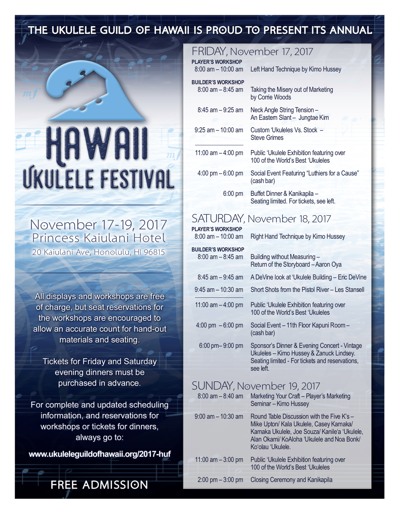 Hawaii Ukulele Festival
