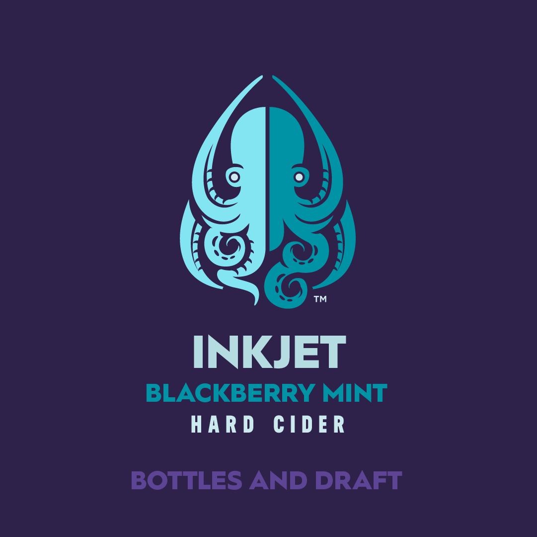 A blackberry mojito masquerading as a cider, Inkjet deftly combines sweet, savory, and just a little bit of tart in a gluten-free cider you can drink all day. This should be your go-to Semi-Sweet.