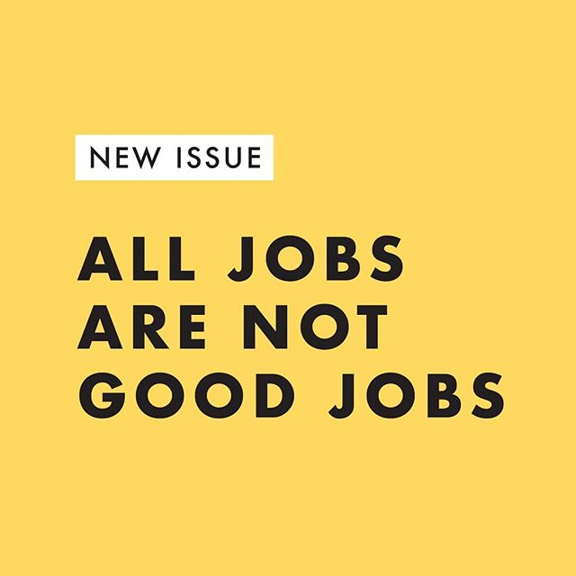 """🚨 New issue alert! We're talking about jobs and this 🔥 clip from Winnie Byanyima, the Executive Director of @oxfaminternational, at Davos. ⬅️ SWIPE TO WATCH  Check out the #LinkinBio to read why I'm tired of living in a world where """"innovation"""" includes business models that are dependent on the exploitation of people."""