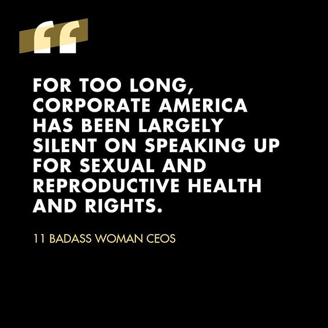 """Last week the CEOs and cofounders of several women's health companies spoke out against the latest wave of regressive state abortion bans. In their full-page open letter in the @nytimes, they also challenge Corporate America to stand up for reproductive rights.   """"Today, we loudly and boldly declare that we will not be silent in defense of fundamental human rights and we challenge our peers in the business community to do the same. Now is the time to speak up.""""  So far the challenge has been accepted by @netflix, specifically in response to Georgia's latest anti-abortion law. The company has committed to working with ACLU to fight the law and declared their willingness to """"rethink our entire investment in Georgia,"""" where the company currently has production staff and film projects.   What companies do you think will be next?  #healthcareisahumanright #abortionrights #healthcare #womenshealth #femaleceos #womenceos #ceoactivism #corporatesocialresponsibility #corporateresponsibility #socialimpact #socialresponsibility #sociallyresponsiblebusiness #socialactivism #corporateactivism #reproductivehealth #reproductiverights"""
