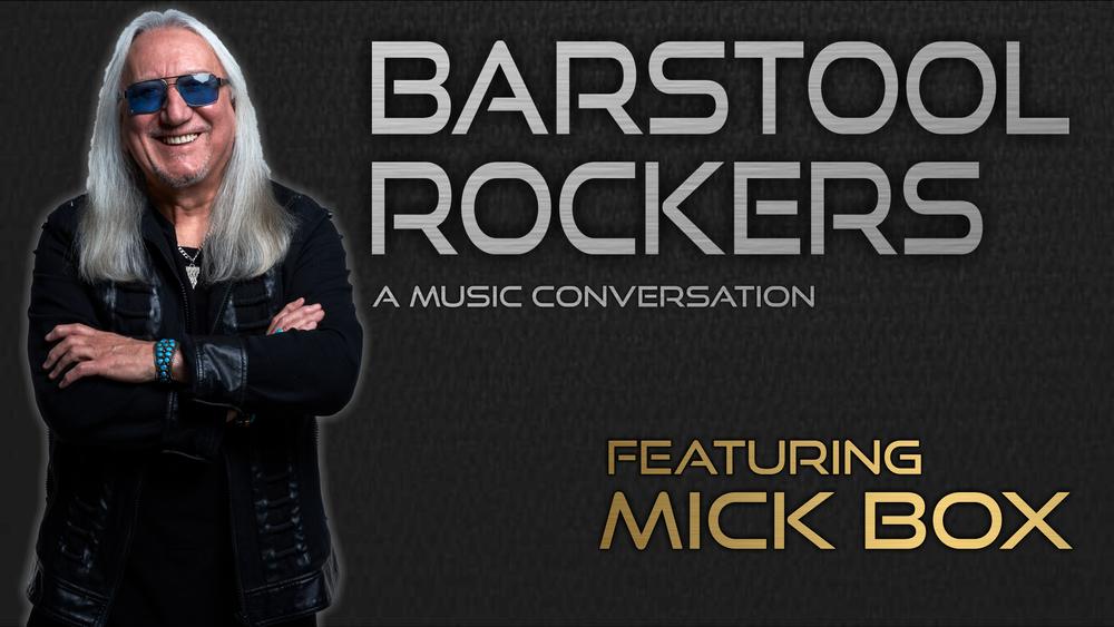 36 Mick Box Uriah Heep Barstool Rockers