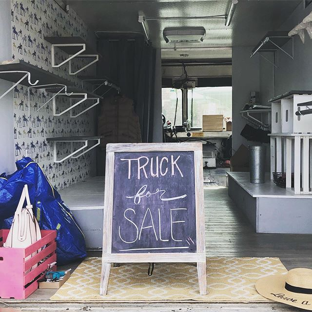 👋🏼 Hi all! Been a minute! We're hanging out at the Fairview Flea today. Lots of amazing sale items for every part of your day. Also! The truck is for sale! Contact me for deets! 🚚💨