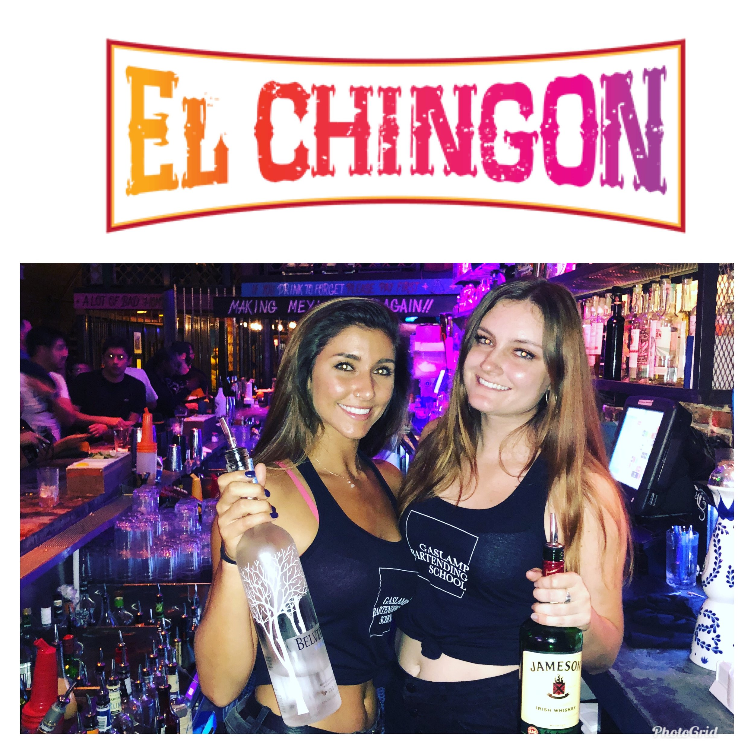 """Our monthly GBS event at El Chingon is not only an opportunity to bartend high volume and get paid at SD's voted top bar, but its also """"industry night"""", the weekly networking event and gathering for local hospitality professionals. This is a major move finding yourself from your couch or boring job to bartending at El Chingon in weeks! ONLY AT GBS!"""