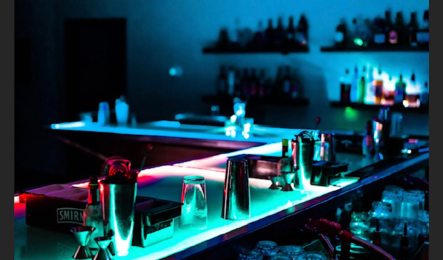 """If your """"Bartending School"""" is made of cheap wood with sinks and faucets RUN! Not going to be fun learning how to use a bar once you get a job as a BARTENDER."""