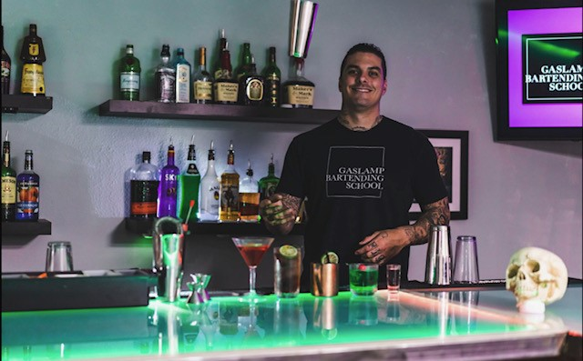 """GET TRAINED BY THE BEST!  When learning how to bartend why not be instructed by the best! Nino Nunziante, Owner and Head Instructor of GBS, is the recent winner of the 2017 """"Beast of the Beach"""" AND 2018 """"Beast of the Bar"""", a competition to determine San Diego's top male bartender through nomination and competition. With his experience in the San Diego hospitality industry since 2002 Nino has crafted the most advanced and complete bartending program possible to create the top bartenders. A local that has been bartending and managing almost half his life, Nino has the programs connections deep in the San Diego hospitality industry and its hiring managers.  Our Second instructor Eric has been is the San Diego hospitality industry for over a decade and is currently a bar manager and bartender at Bassmnt nightclub. Its great for students to get training from a active manager, gives great insight to today's industry. GBS is REAL, we live, eat and breath this industry, you will not find better instructors guaranteed!"""