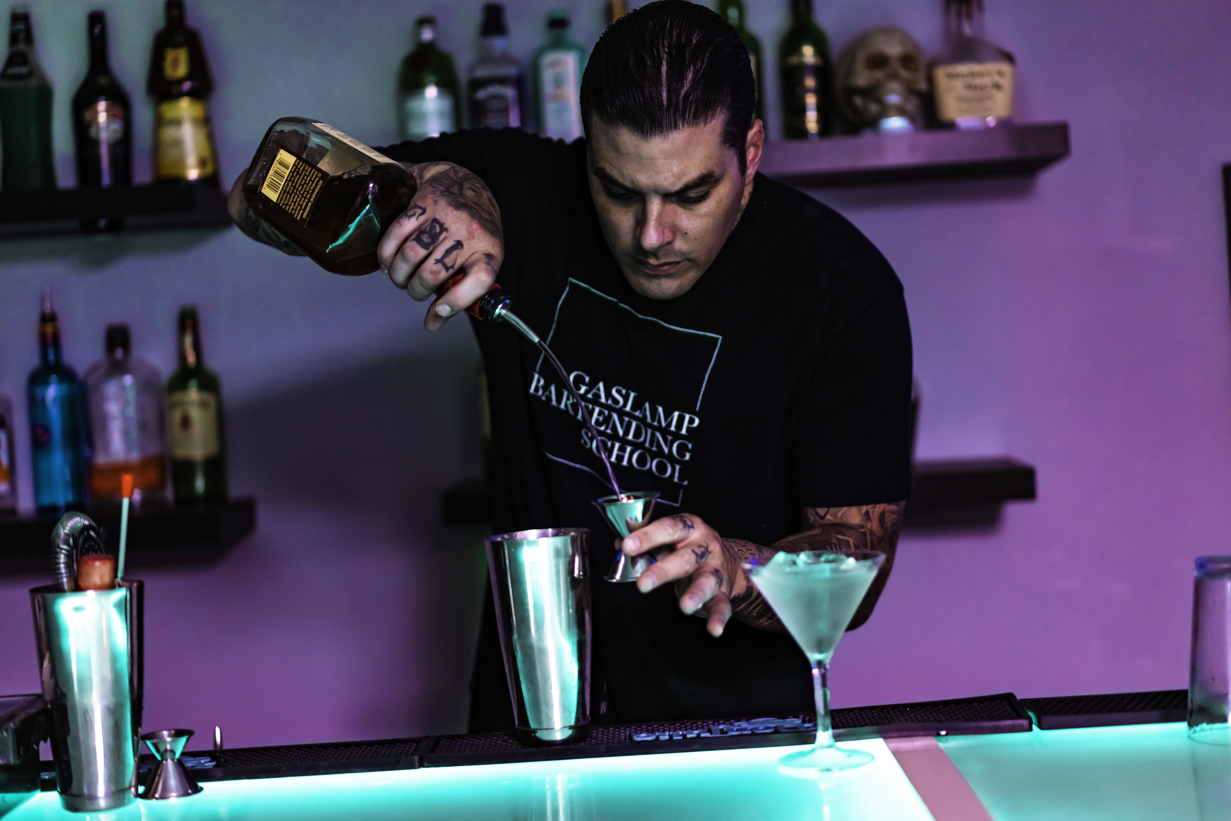 Owner/Head Instructor and San Diego's Winner of Best Bartender 2017 & 2018